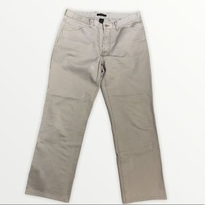 DKNY Men's Light Khaki Pants Size 34